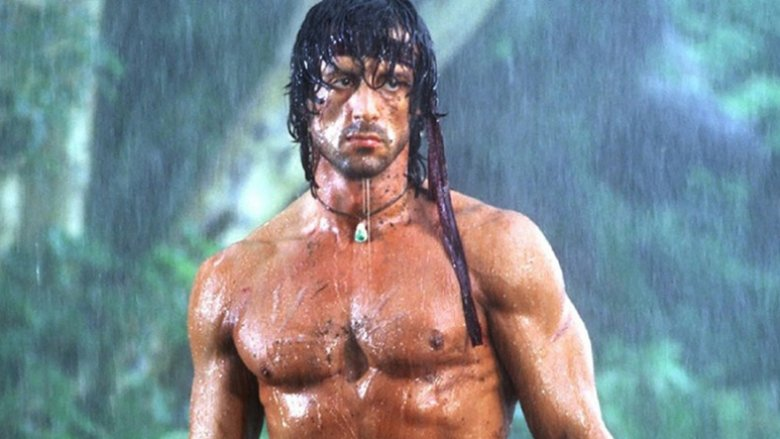 Sylvester Stallone in Rambo: First Blood II