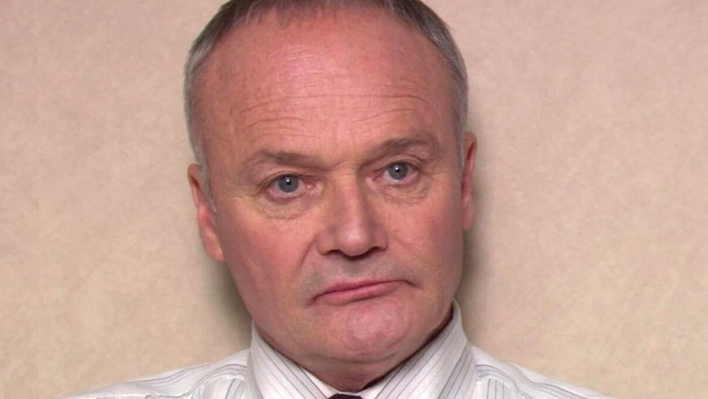 Creed Bratton frowning