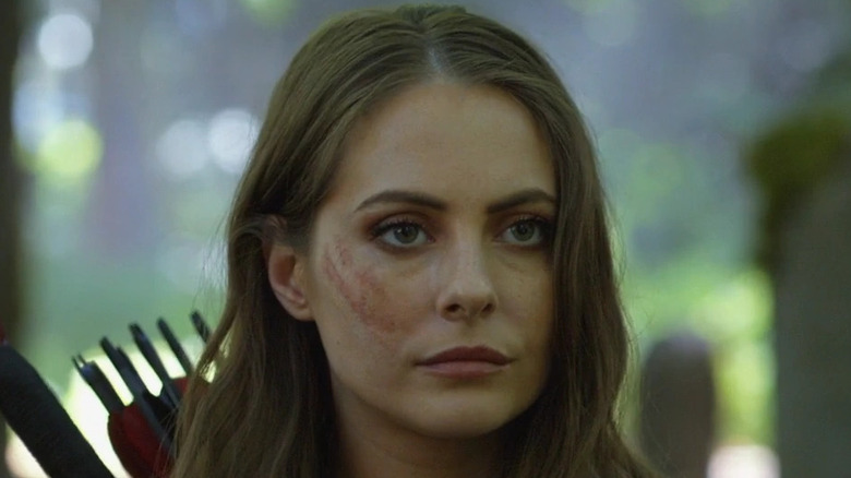 Thea Queen scarred