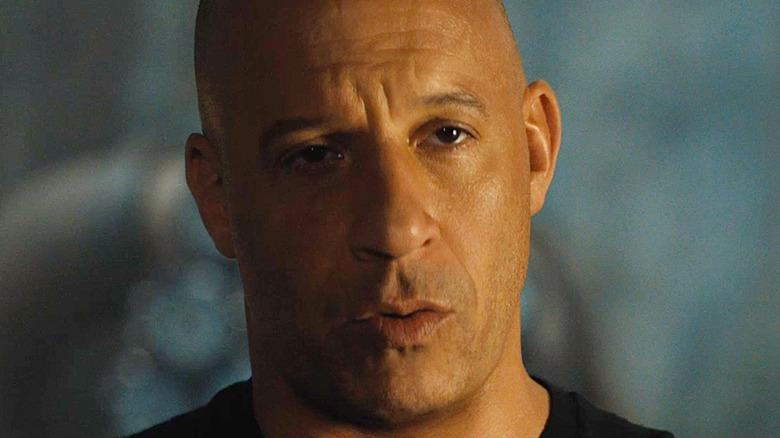 Dominic Toretto stoic