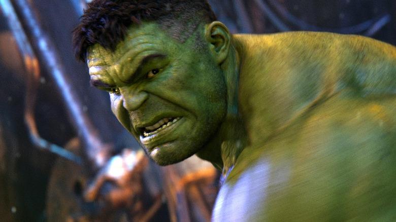 The Hulk in Avengers: Infinity War