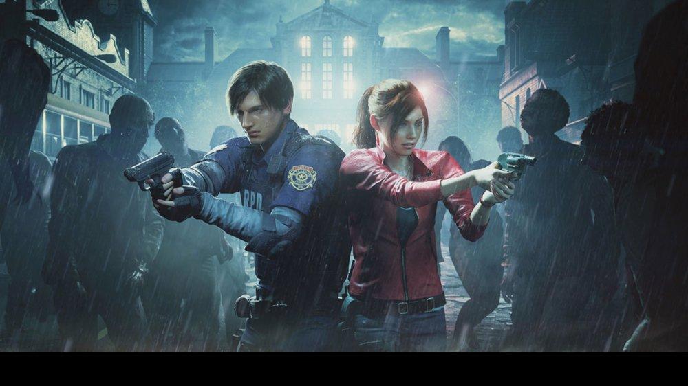 Resident Evil art from Capcom