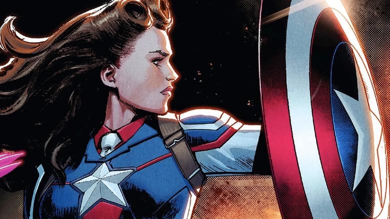 Sharon Carter as Captain America