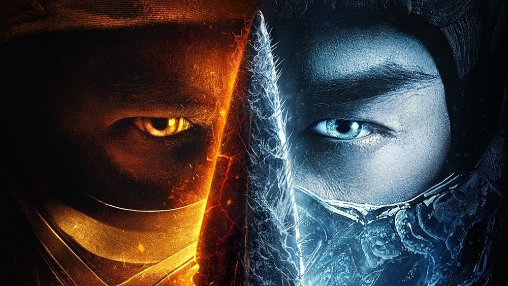 Mortal Kombat 2021 movie poster
