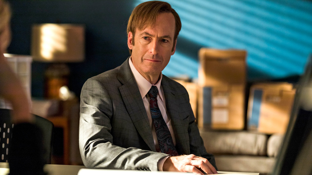 Bob Odenkirk as Jimmy McGill on Better Call Saul