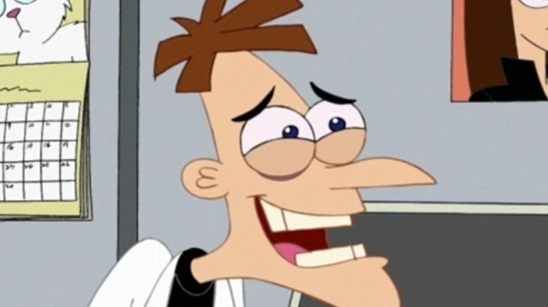 Doofenshmirtz smiling