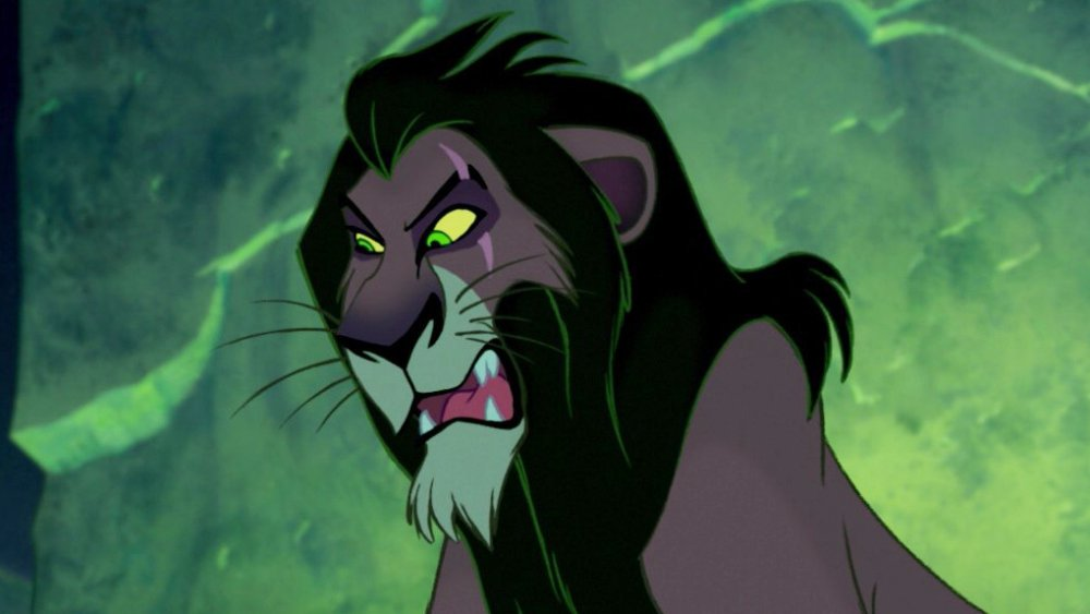 Scar (Jeremy Irons) in The Lion King
