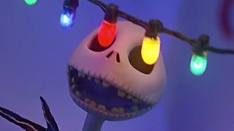 Jack admires Christmas lights