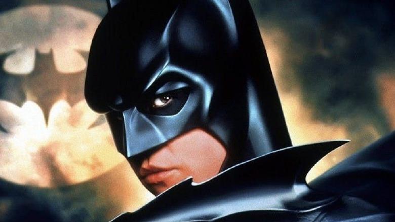 Batman with Bat-Signal