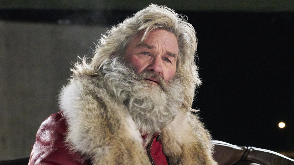 Kurt Russell as Santa in The Christmas Chronicles 2