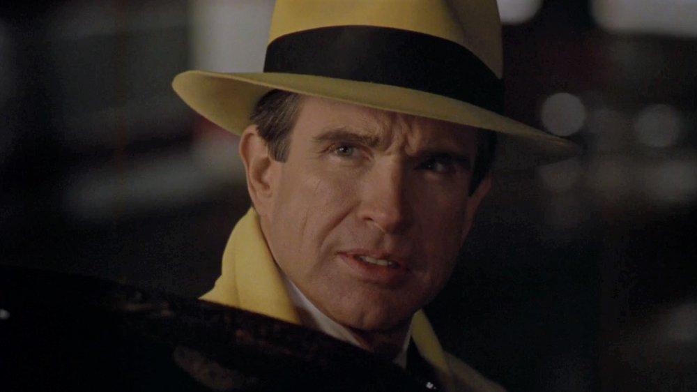 Warren Beatty in Dick Tracy