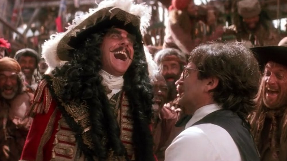 Robin Williams and Dustin Hoffman in Hook