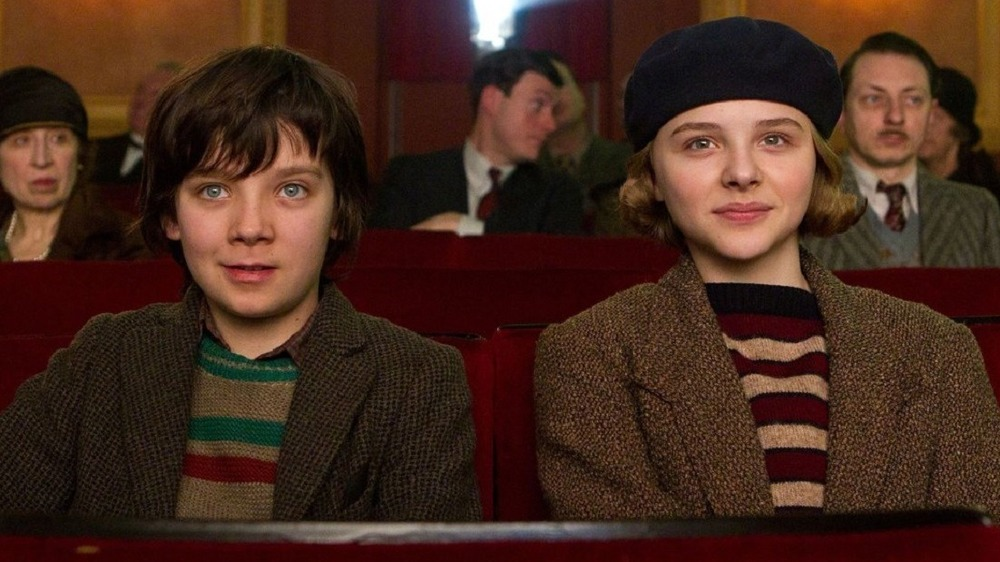 Hugo and Isabelle in theater