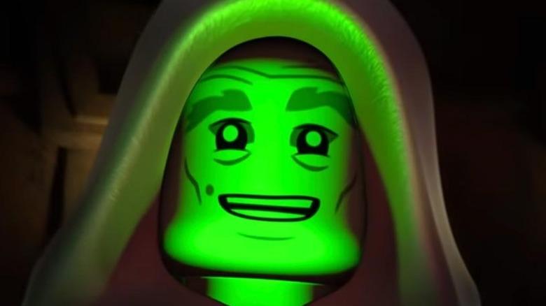 LEGO Vaneé smiling green light