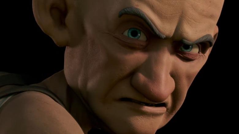 Mr. Nebbercracker, the old man in Monster House