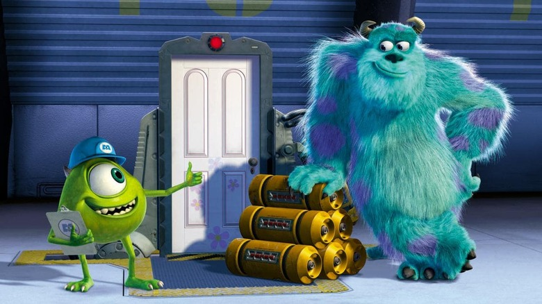 Mike and Sulley from Monsters, Inc.