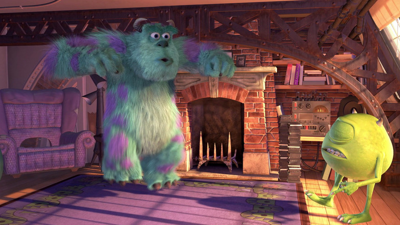 Mike and Sulley's apartment from Monsters, Inc.