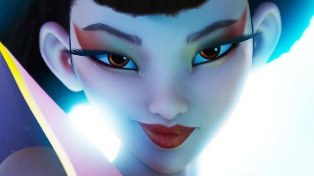 Chang'e smirking moonlight