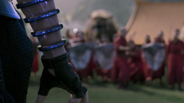 "Simu Liu rings in ""Shang-Chi and the Legend of the Ten Rings"""