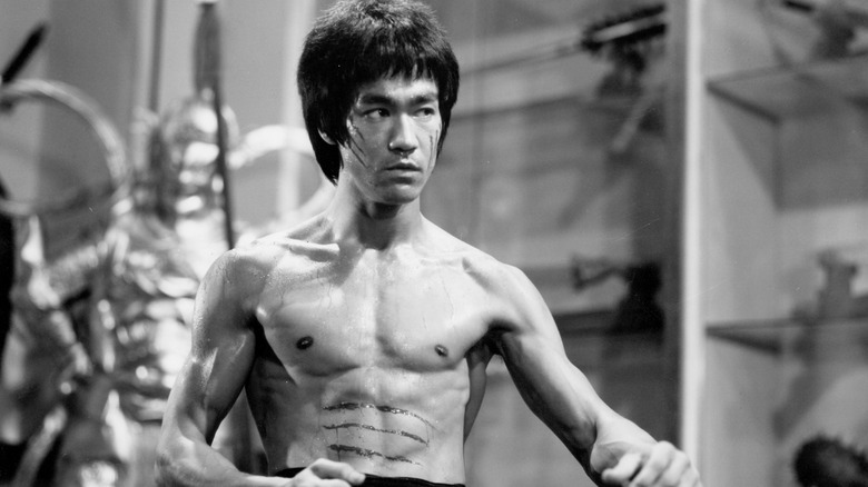 Bruce Lee scratched