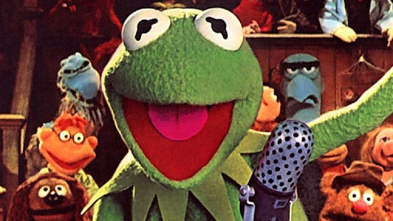 Kermit the Frog smiling