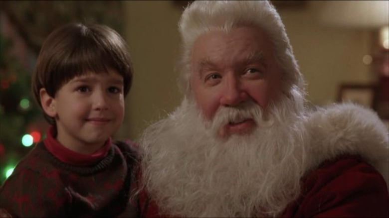 Tim Allen and Eric Lloyd in The Santa Clause