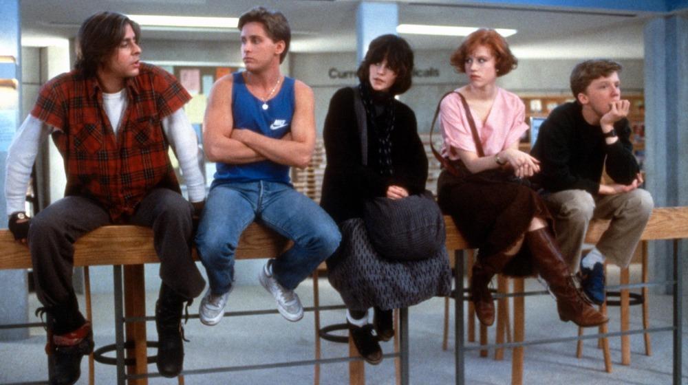 The Breakfast Club cast