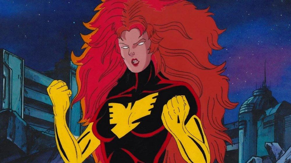 Jean Grey as Dark Phoenix on X-Men: The Animated Series