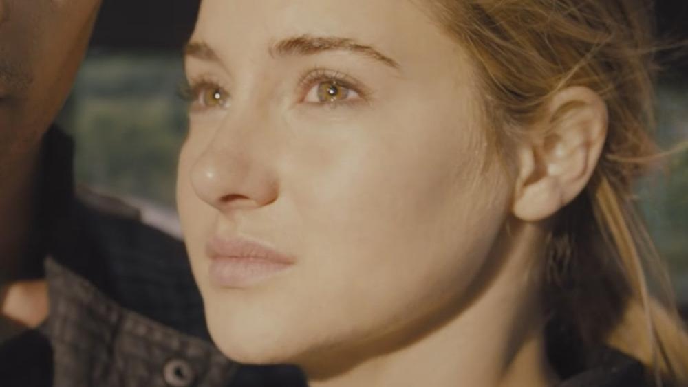 Shailene Woodley as Tris in Divergent