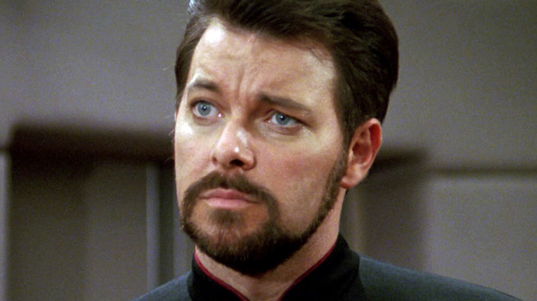 Riker in close-up