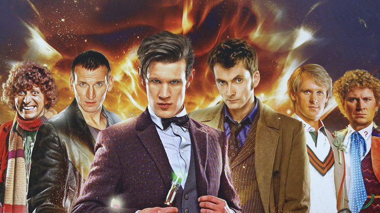 The Doctor through the years