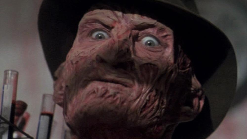 Freddy Krueger glaring