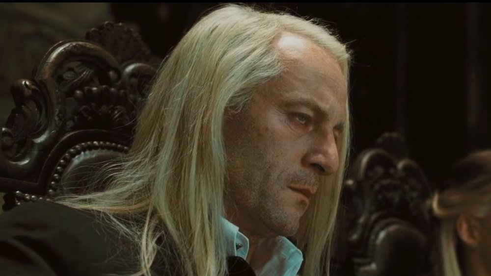 Jason Isaacs as Lucius Malfoy in Harry Potter and the Deathly Hallows -- Part 1