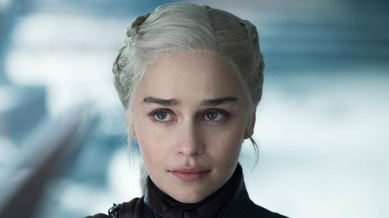 Emilia Clarke as Daenerys Targaryen, from Game of Thrones