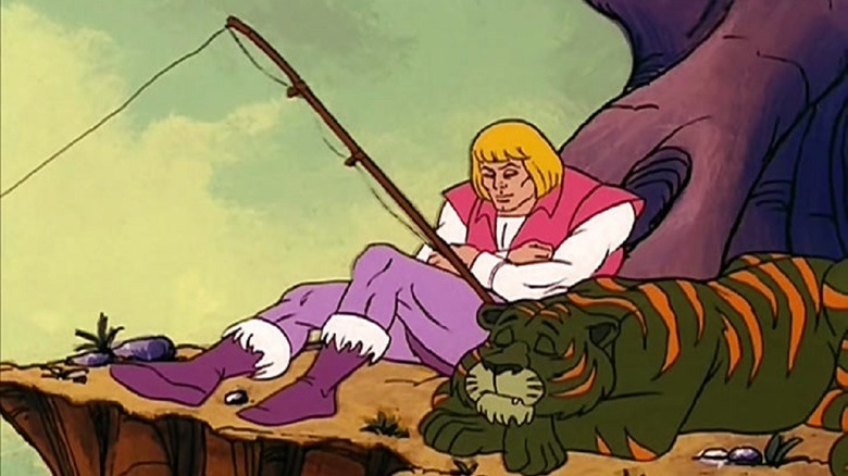 He-Man Fishing and Napping