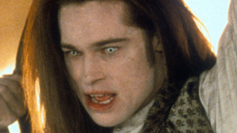 Brad Pitt is angry in Interview with the Vampire