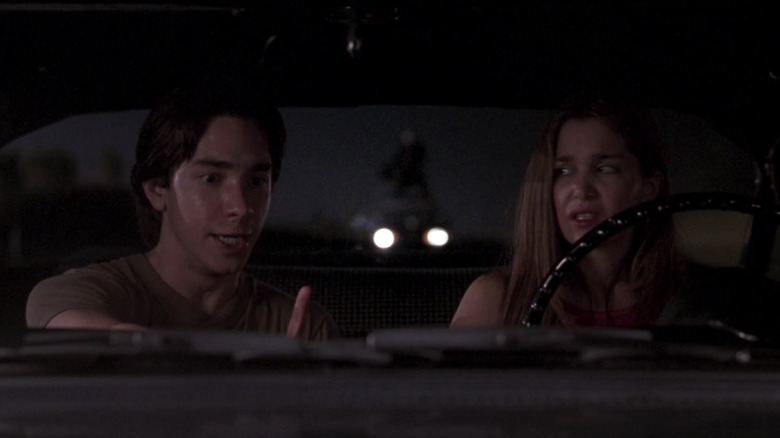 Darry and Trish driving