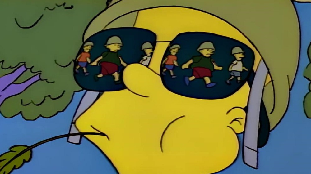 Bart Simpson as general