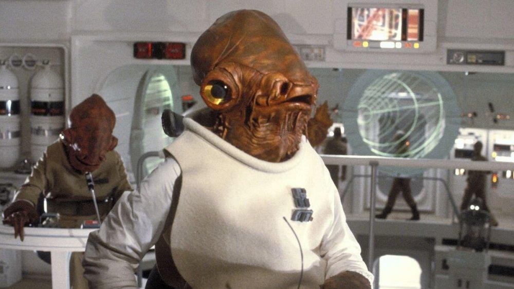 Admiral Ackbar, Star Wars: The Last Jedi
