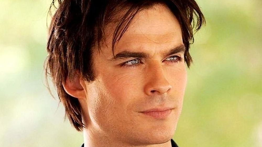 Damon Salvatore smile