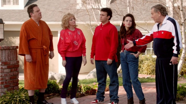 The titular family on the pilot episode of The Goldbergs