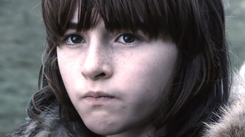 Young Bran Stark in Game of Thrones