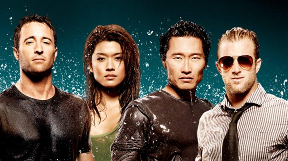 Promo image featuring the season 1 cast of Hawaii Five-0