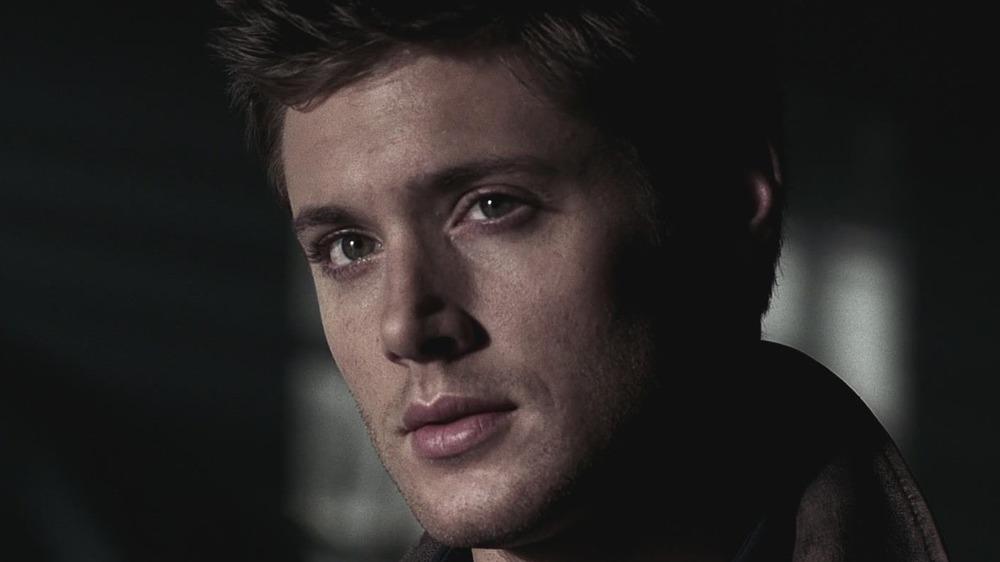Dean Winchester serious gaze