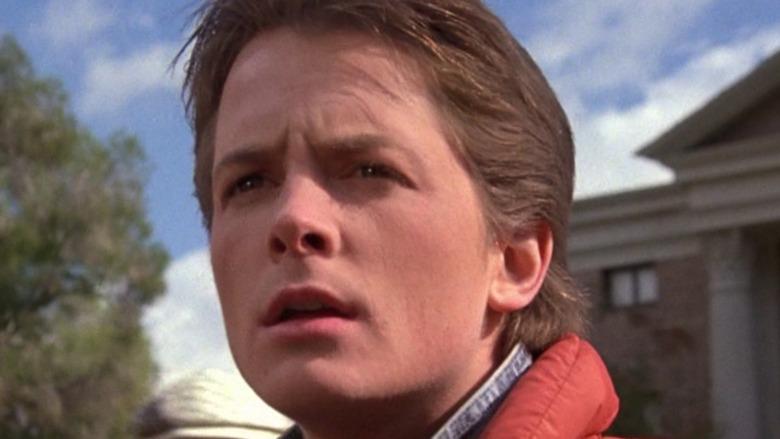 Marty McFly looks ahead