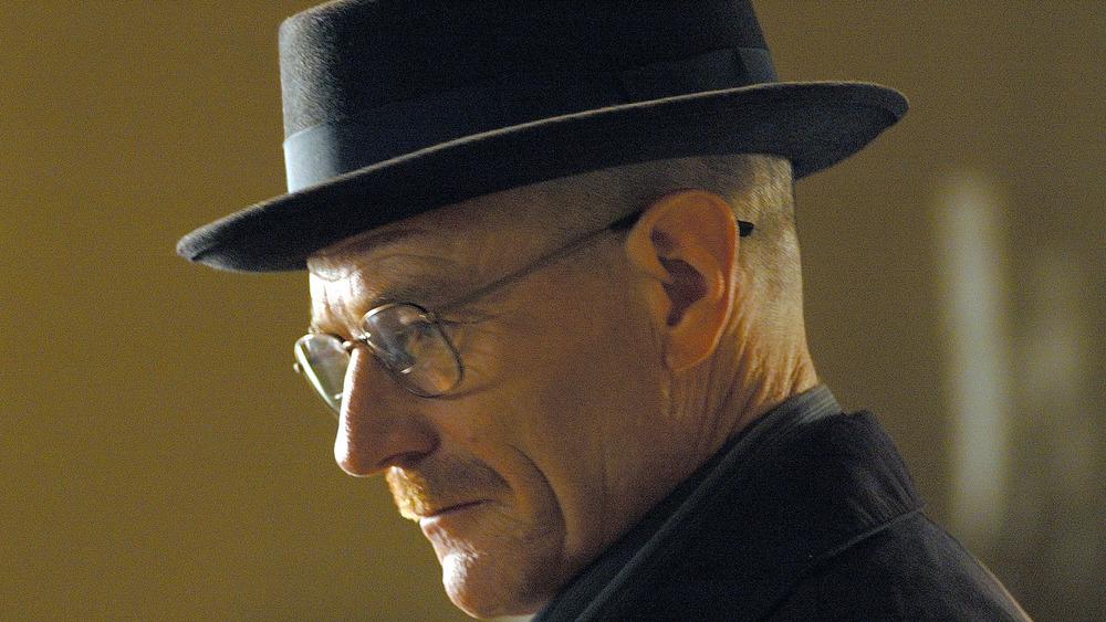 Walter White in Heisenberg mode