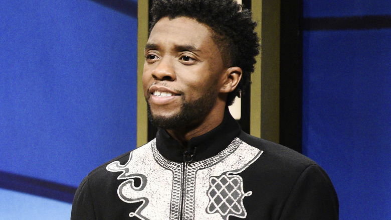 Chadwick Boseman in Black Jeopardy on Saturday Night Live