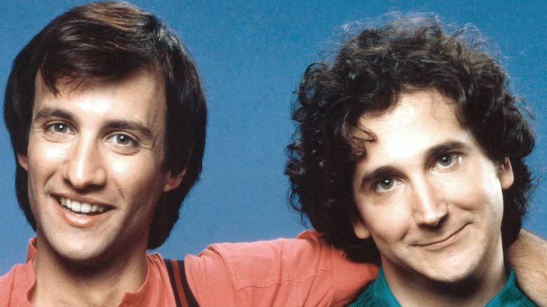 Balki and Larry smiling