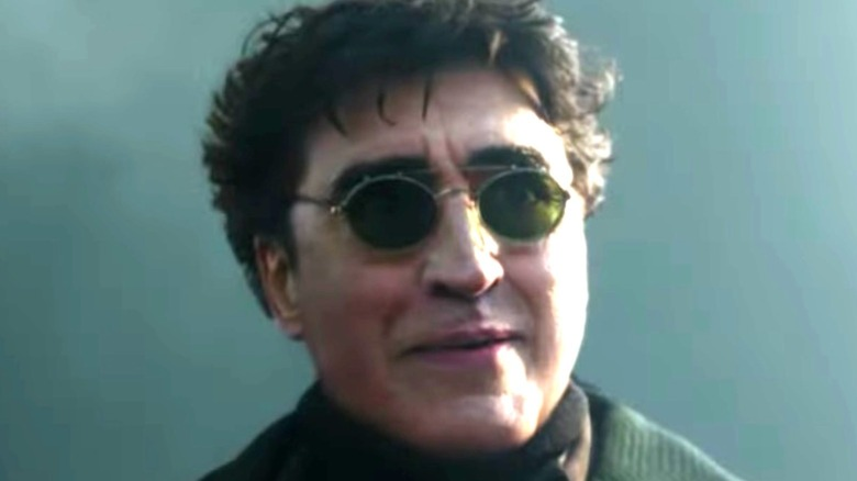 Doctor Octopus smiling