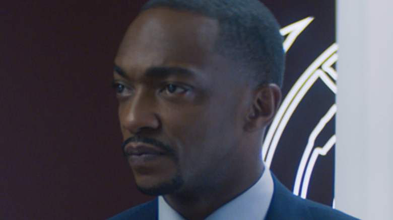 Sam Wilson in a suit